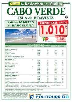 CABO VERDE Isla de Boavista salida martes 05/11 al 30/04/14 dsd Barcelona (8d/7n) p.f. 1.345€ - http://zocotours.com/cabo-verde-isla-de-boavista-salida-martes-0511-al-300414-dsd-barcelona-8d7n-p-f-1-345e-2/