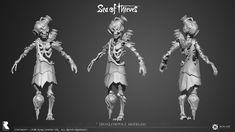 ArtStation - Sea of Thieves – Ivan Yosifov Sea Of Thieves, Character Design References, Zbrush, Art Studios, Cool Artwork, Game Art, Skeletons, Metal, House