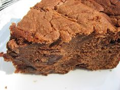 Heidi Bakes: Trisha Yearwood's Chocolate Poundcake