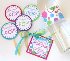 Free Printable Cupcake Toppers - My Practical Baby Shower Guide