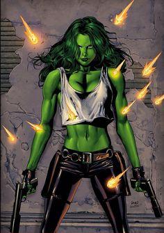 She-Hulk - Greg Land
