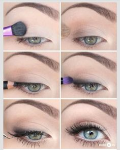 Natural eye makeup how-to