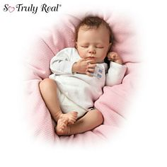So Truly Real Breathing Lifelike Baby Doll ...
