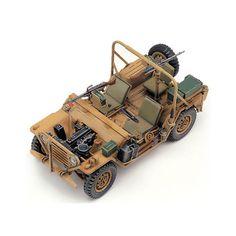 "Armored Car Tank Military Model 1/35 ""I.D.F.M-151A1 Shimira"" #CA195"