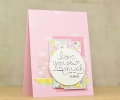 Sewing Cards, Simon Says Stamp, Love Notes, Card Kit, Happy Valentines Day, Card Making, Stamp Card, January 14, Letters