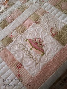 Greenfairyquilts - beautiful free motion quilting
