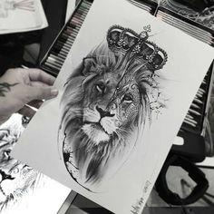 Lion Tattoo Templates - Tattoos For Men: Best Men Tattoo Models Model Tattoos, Leo Tattoos, Future Tattoos, Animal Tattoos, Body Art Tattoos, Tattoo Girls, Girl Tattoos, Tattoos For Guys, Lion Tattoo Design