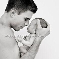 Cute Daddy Baby shot:) Preparing for #baby? Visit www.nourishbaby.com.au