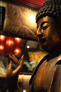 Buddha in Kata Noi, Thailand.