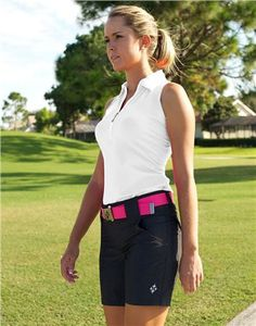 JoFit Belted Golf Short GB005