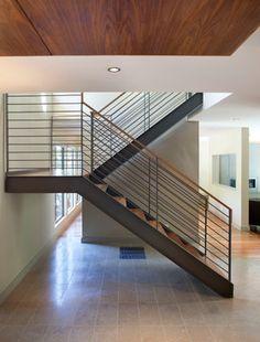 Orinda - contemporary - staircase - san francisco - Ohashi Design Studio