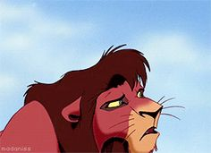 """""""only a lot. you're still breathing too hard. relax. feel the earth under your paws, so it doesn't shift and make noise."""" The Lion King II: Simba's Pride (1998)"""