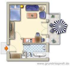 Great in-law-suit. Granny Flat, Bonus Rooms, Small Houses, Tiny Living, Planer, Law, Sweet Home, Gallery Wall, Floor Plans