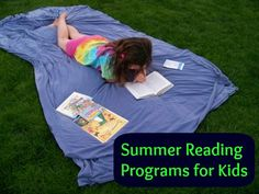 {2013 Kids Summer Reading Programs} - kids can earn free books & other incentives for reading this summer!