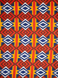 Beautiful African Textiles Holland wax print 6 yards / 5.5 meter. Width: 46/47 inch / 117 cm. Material: 100 % Cotton