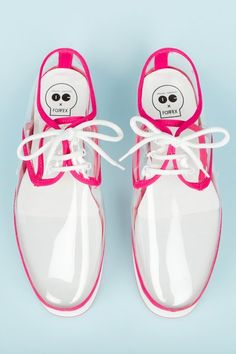 Forfex Clear PVC Sneakers