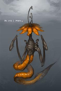 Monster No. 052 by Onehundred-Monsters.deviantart.com on @DeviantArt