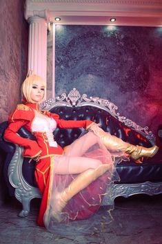 Fate/Extra - Saber Nero by Disharmonica