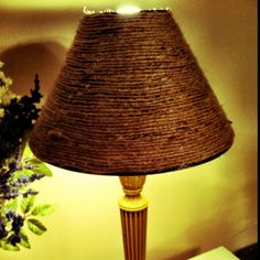 DIY Rope Lampshade by mysimplehomelife.com #36thavenuefavorites ...