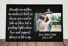 WEDDING gift for PARENTS of the Bride and/or Groom
