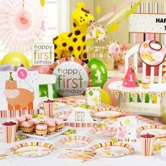 Find lots of great 1st birthday party ideas, a wide range of first birthday themes, and tips for hosting an amazing event.