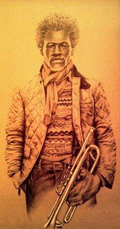 The Gift - artist : Al Burts: BLACK ART IN AMERICA