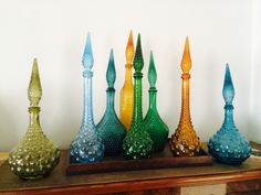 Part of my genie bottle collection.