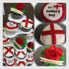 At George's day cup cakes