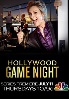 Movie stars acting just like you do on game night at home - only they're on tv acting that dumb.