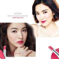 LANEIGE Serum Intense Lipstick  Song Hye Kyo and Jeon Ji Hyun Lipsticks