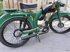 Vintage Moped, Motorcycle, Motorcycles, Motorbikes, Choppers
