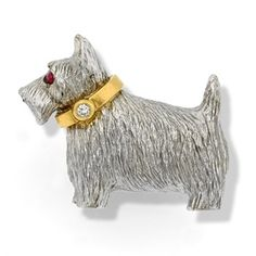 Skeleton Clock, Scully And Scully, Gold Collar, Dog Jewelry, Jewelry Art, Cat Pin, Scottie Dog, Dog Coats, Gold Texture
