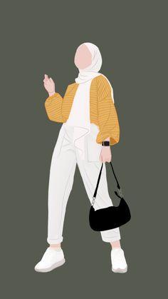 Aesthetic Desktop Wallpaper, Scenery Wallpaper, Hijab Drawing, Hijab Cartoon, Islamic Girl, Cartoon Art Styles, Cute Cartoon Wallpapers, Girl Cartoon, Aesthetic Anime
