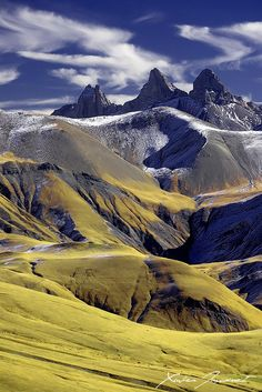 ~~Arves peak | Autumn colors and the three Arves Peaks, Savoie, Rhône-Alpes, France by *XavierJamonet~~