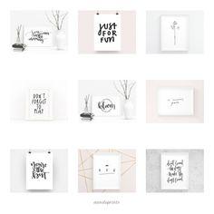A&O PRINTS – Papeterie * Lettering Home Decor, DaWanda Online Shop