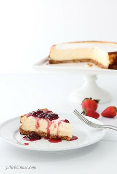 The Best Cheesecake Recipe - Coordinately Yours by Julie Blanner entertaining & design that celebrates life