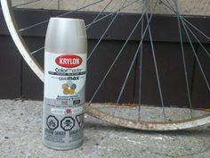 We 39 Ve Never Seen This Bike Wheel Reuse But Her Neighbors Must Love It