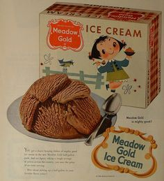 vintage christmas ice cream.... haha