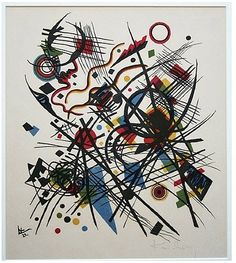 Wassily Kandinsky, Lithographie für die Vierte Bauhausmappe (Lithograph for the Fourth Bauhaus Portfolio)