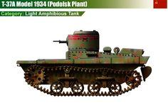 T-37 M1934 Light Amphibious Tank