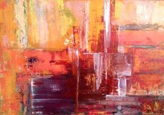 Buy INNAMORATA abstract impression Original Modern Abstract Painting On…
