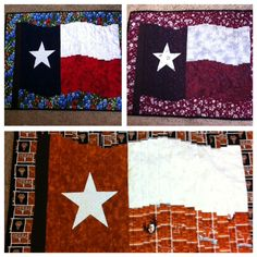 Quilted wall Flags