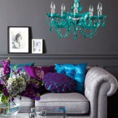 never been huge on jewel tones, but love this...maybe with white??