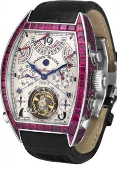 Franck Muller Aeternitas Mega 4 wristwatch with rubies...