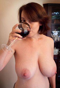 Oiled tits mature
