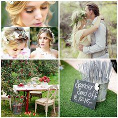 Bohemian Wedding Inspirations and Invitations -InvitesWeddings.com