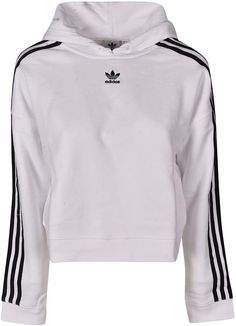 Shop Adidas Cropped Hoodie and save up to EXPRESS international shipping! Nike Sweatshirts Hoodie, Hoodies, Cute Middle School Outfits, Adidas Cropped Hoodie, Adidas Sportswear, Adidas Outfit, Hoodie Outfit, Cute Casual Outfits, Athletic Outfits