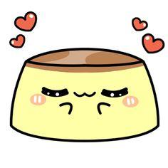 Bouncing Kawaii Flan-In Love by MinjiXMuu-chan.deviantart.com on @DeviantArt