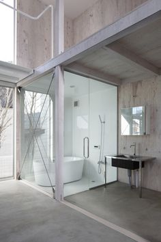 "House in Kashiwa by Yamazaki Kentaro Design Workshop ""Location: Masuo, Kashiwa, Chiba, Japan"" 2014"