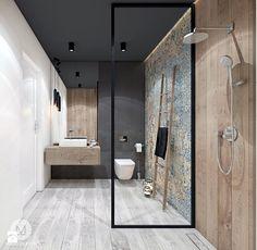 Decorating Tips for a Traditional Bathroom Large Tile Bathroom, Beach House Bathroom, Small House Interior Design, Bathroom Interior Design, Douche Design, Restroom Design, Traditional Bathroom, Bathroom Styling, Bathroom Renovations